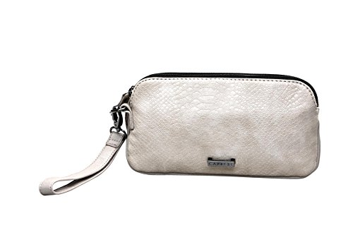 Caprese Women's Clutch (Beige)  available at amazon for Rs.949