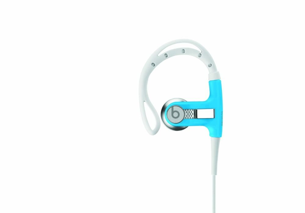 Beats by Dr. Dre POWERBEATS | Powerbeats by Dr. Dre In-Ear Headphone (Neon Blue 900-00121-01)