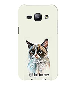 EPICCASE I had fun once it was awful Mobile Back Case Cover For Samsung J1 Ace (Designer Case)
