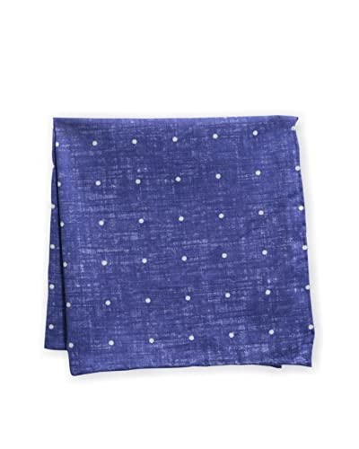 Vince Camuto Men's Denim Dot Pocket Square