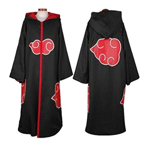 Angelaicos Unisex Halloween Cosplay Costume Uniform Cloak with Headband