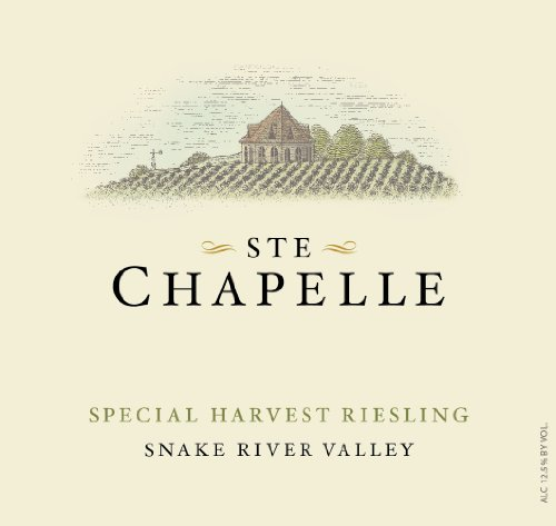 2012 Ste Chapelle Special Harvest Riesling 750 Ml