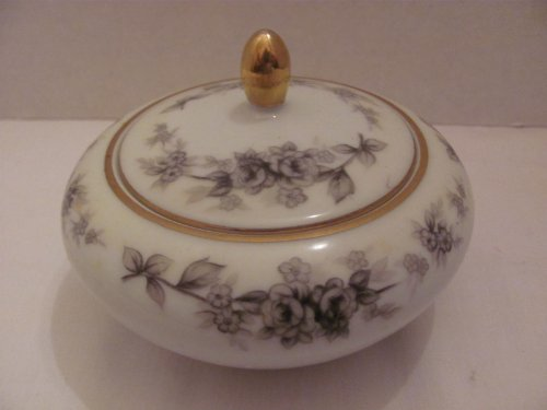 Vintage - CATHY (Pattern #8140) - SUGAR BOWL and LID - by JYOTO Fine China (Made in Japan) Pattern Fine China Japan