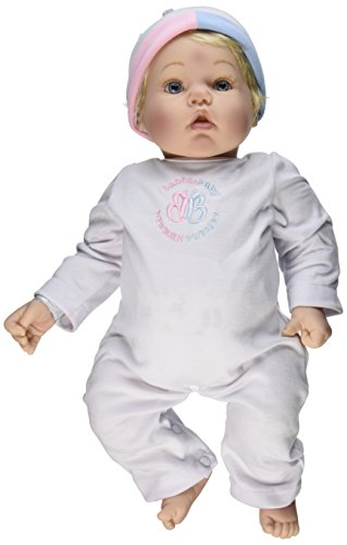 Madame Alexander Babble Baby, Blonde Hair, Blue Eye Baby Face Doll (Baby Blue Eyes compare prices)