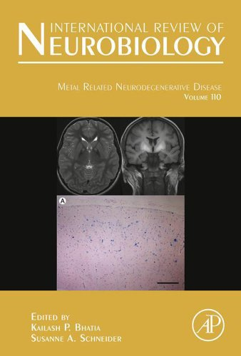Metal Related Neurodegenerative Disease (International Review Of Neurobiology) front-548299