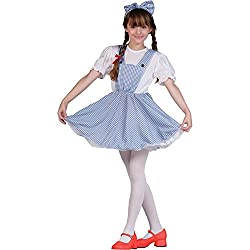 Childs Dorothy Halloween Costume (Size:Large 12-14)