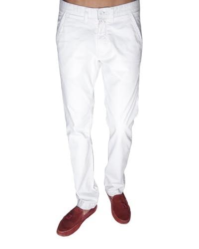 Giorgio Di Mare Pantalone Chino Vernon [Bianco]