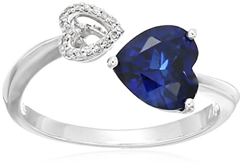 xpy-sterling-silver-created-sapphire-and-diamond-accent-double-heart-ring-size-8