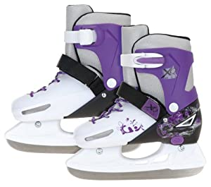 XQ Max Girl's Small Ice Skating Shoes Ice Skates Adjustable from Size 11.5 - 13
