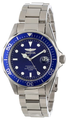 Invicta Mens 9204 Pro Diver Collection Silver-Tone Watch
