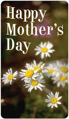 Happy Mother's Day Daisies Magnet