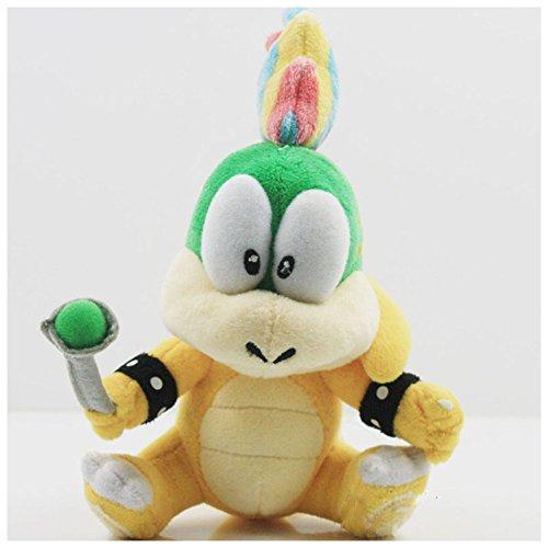Carino Super Mario Koopalings Lemmy Koopa peluche farcito giocattolo