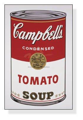 ポスター アンディ ウォーホル Campbell s Soup I Tomato 1968