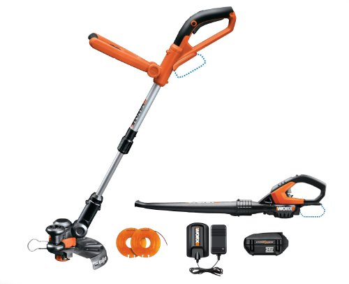 Buy Worx Wg922 Cordless 24 Volt Lithium Trimmer Edger And