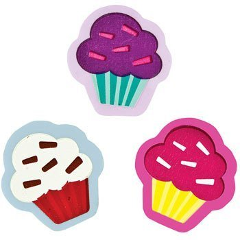 Cupcake Erasers - Stationery & Pencil Accessories - 1
