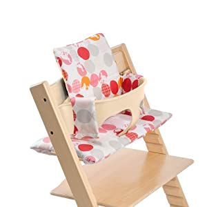 Stokke Tripp Trapp Cushion, Silhouette Pink, 0-36 Months