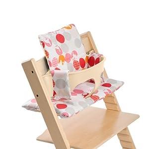 Coussin pour la chaise haute stokke tripp trapp stokke for Patron coussin chaise tripp trapp