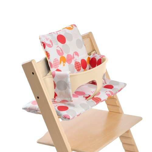 Stokke Tripp Trapp Cushion, Silhouette Pink, 0-36 Months front-1021025