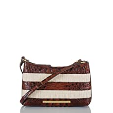 Anytime Mini Bag<br>Pecan Raffia Vineyard