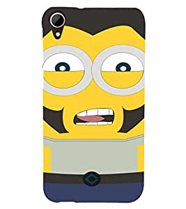 EPICCASE Movie Star Minion Mobile Back Case Cover For HTC Desire 828 (Designer Case)