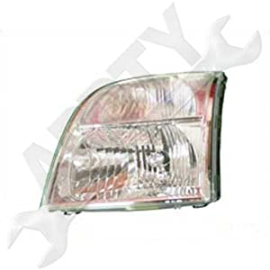 2007-2009 Mountaineer Head Lamp/Light Assembly LEFT
