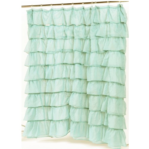 ruffled shower curtains deal