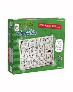 Goto Diary of a Wimpy Kid: Book Three 200 Piece Jigsaw Puzzle Details