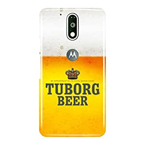 a AND b Designer Printed Back Case / Back Cover For Motorola Moto G4