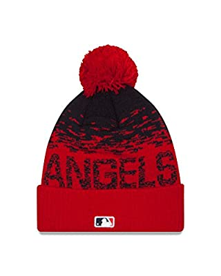 MLB Los Angeles Angels Headwear, Navy/Scarlet, One Size