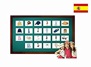 Amazon.com: Tarjetas de vocabulario - Ropa - Clothing Flashcards in