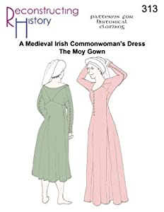 Medieval Irish Moy Gown Pattern