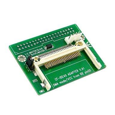 """Piteng?cf compact flash card merory a verticale 3,5 """"unit?disco rigido adattatore hdd ssd 40 pin ide"""