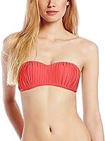 Seafolly Sujetador de Bikini (Rojo)