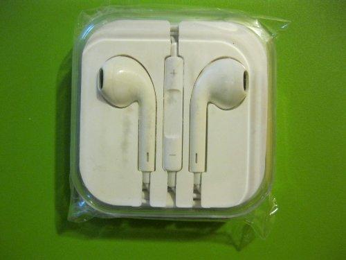 Stero Earphone Headphone With Remote Control For Ip 4,4S,5 5C, Ipad 2,3, Minipad (White)