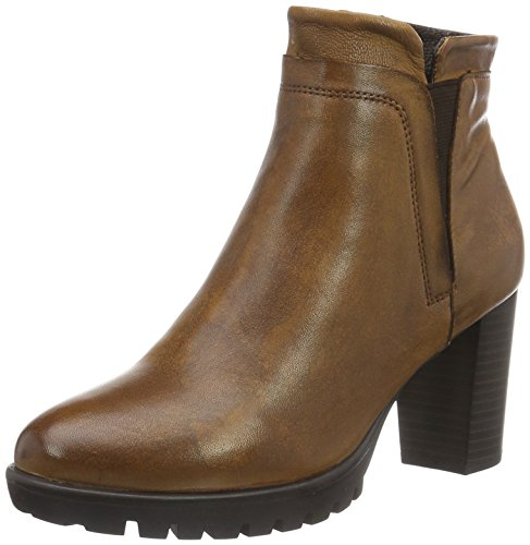 SPMHaut Ankle Boot - Stivali bassi con imbottitura leggera Donna , Marrone (Braun (Dk Cuoio/Dk Brown)), 39 EU