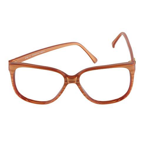 Diane De Carlo Eyeglasses 6740 N Brown 57-15 Hand Made In France