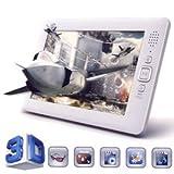 【Amazonの商品情報へ】GADMEI 6インチ ワイド グラシーズ3DデジタルフォトフレームGlasses-free 3D Media Player P63(GADMEI)