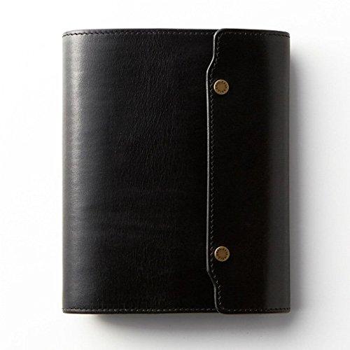ノックス オーセン システム手帳 バイブルサイズ(フラップタイプ) ブラック
