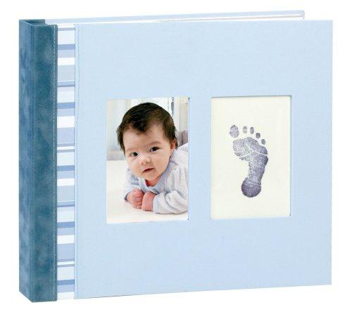 Pearhead Babyprints Babybook, Blue