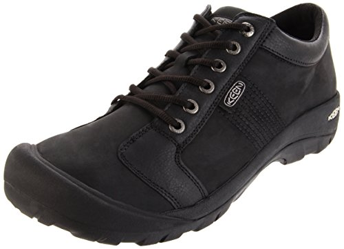 KEEN Men's Austin Shoe,Black,10 M US