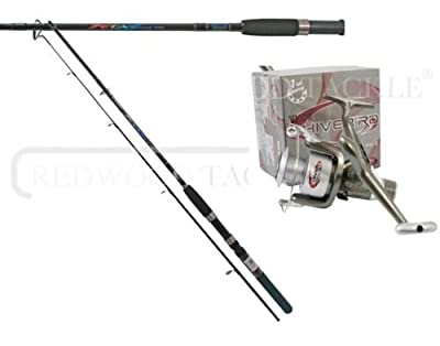 Shakespeare zeta spinning Fishing rod 6.5 FT and reel combo by redwoodtackle.co.uk