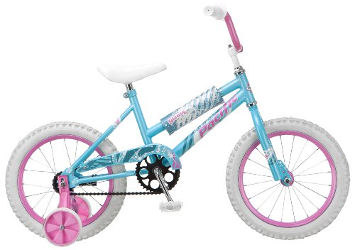 Pacific Girl's Gleam 16-Inch Bicycle, Light Blue
