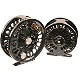 New! Abel Super 12X Large Arbor Fly Reel Black