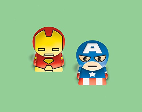 "Amscan Cute The Avengers Finger Puppets Toy (1 Piece), Multi, 1 1/2"" - 1"