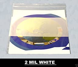 Reclosable Ziplock Bag with White Block Zipper 2 Mil Thick 2\