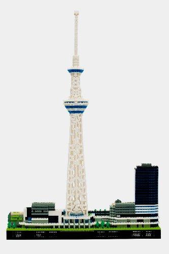 nanoblock Tokyo Sky Tree Deluxe Edition Ver 20
