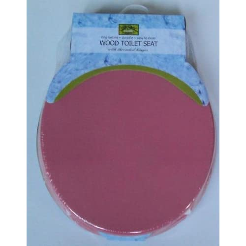 Amazon.com - Top Care Hot Pink Hard Toilet Seat -
