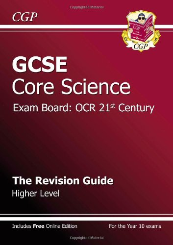 Gcse Core Science Ocr 21St Century Revision Guide - Higher (With Online Edition)