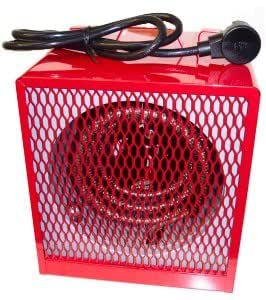 Dayton 3VU36 Electric Heater With Thermostat