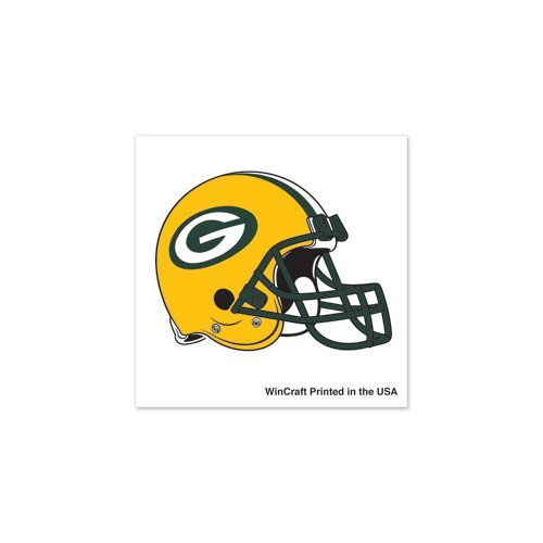 Green Bay Packers Tattoo 4 pack